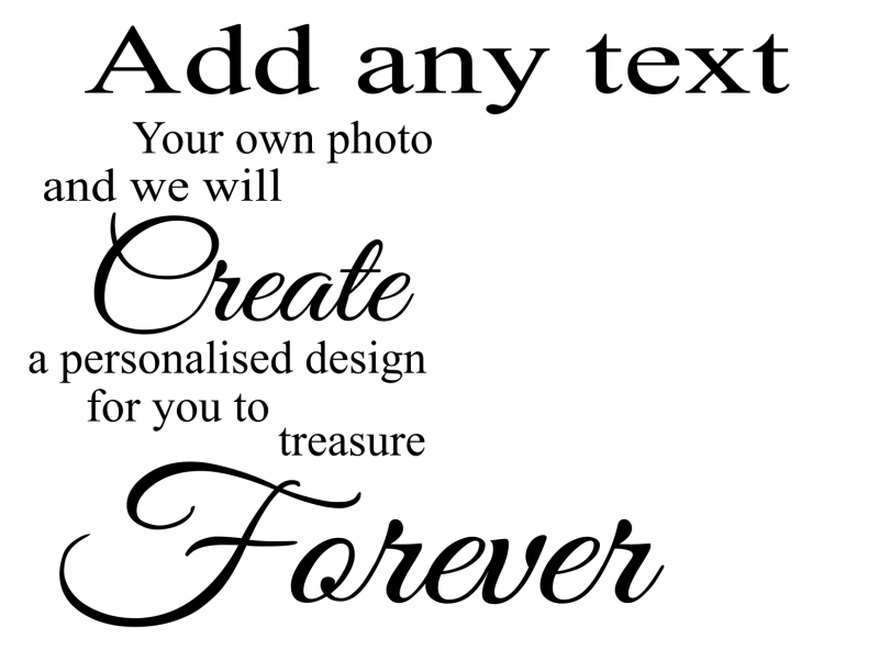 Upload your photos to customise this product!