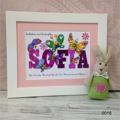 Children's Personalised Name  0016