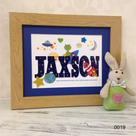 Children's Personalised Name  0019