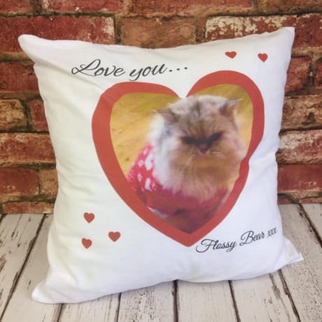 Cushion: Love you ...