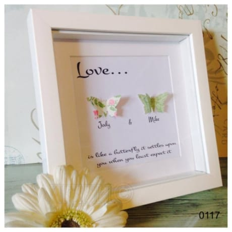 Handcrafted : 0117 - Butterfly LOVE