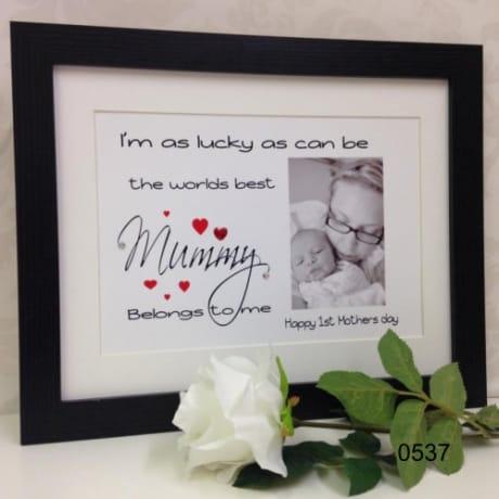 0537- I'm as lucky-Mummy