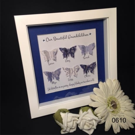 Handcrafted : 0610-Butterfly-antique blues