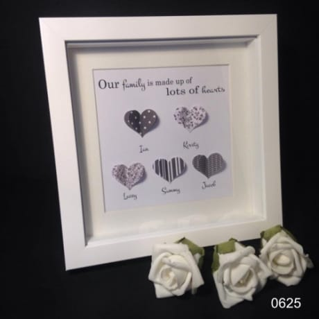 Handcrafted : 0625-Hearts