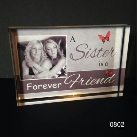 Photo block 0802 A Sister is a forever friend