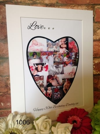 2220- Love photo collage