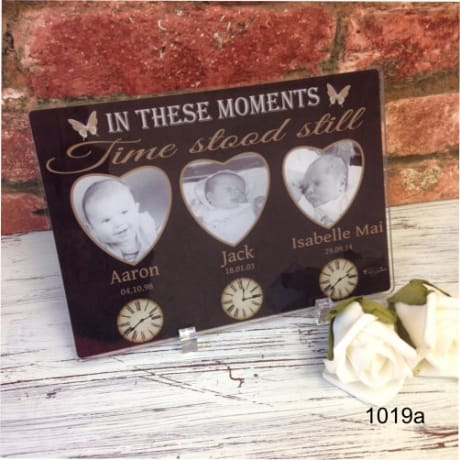 1019a- Moments in time acrylic plaque