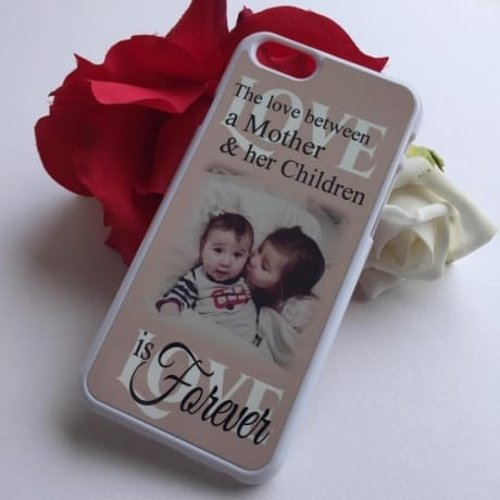 Personalised phone case : The love between
