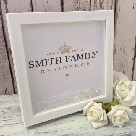 Handcrafted : 003 Family Name (Moet inspired)