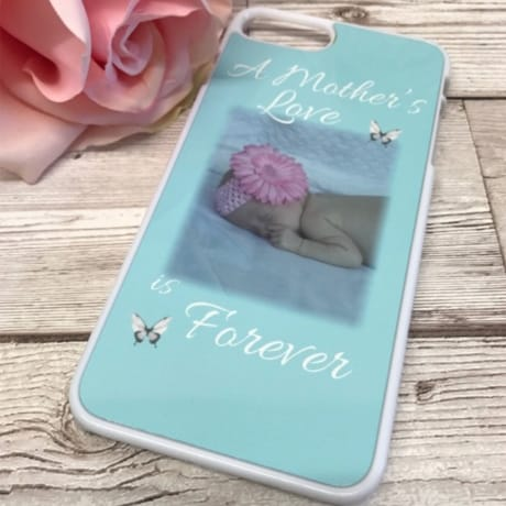 Personalised phone case: love is forever