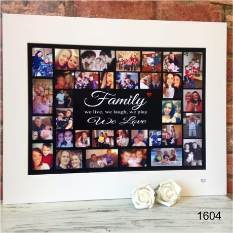 1604 - Family Photo Collage