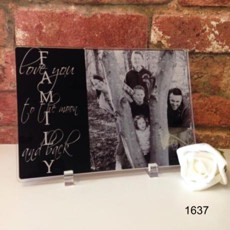 1637-Family acrylic plaque