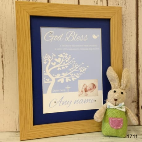 Christening: 1711-God Bless Blue