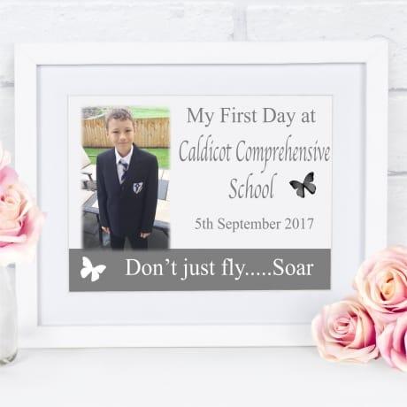Personalised 1st day at school keepsake