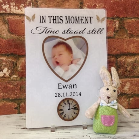 Moments in time - Acrylic plaque