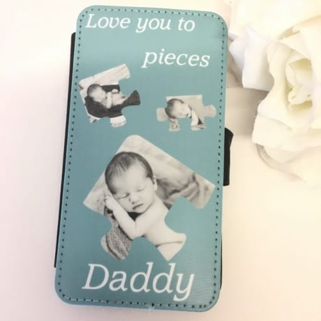 Personalised phone case : Love you to Pieces