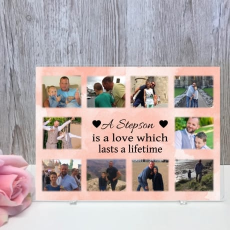 Personalised Photo Collage - A love which lasts