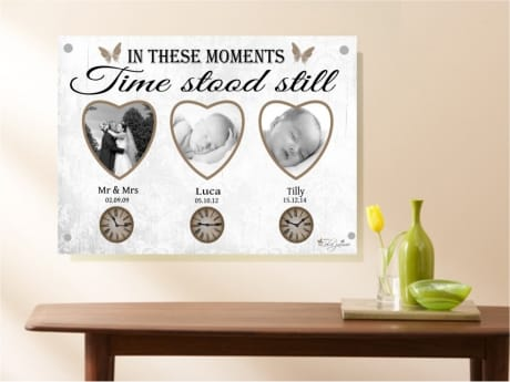 1019b- Moments in time Acrylic plaque
