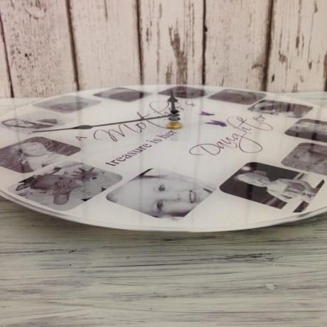 Personalised clock - Treasure