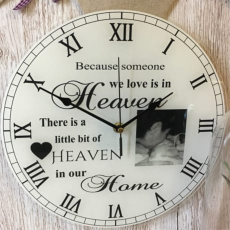 Clock 9  :  because someone we love....