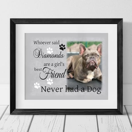 Personalised pet gift Frame or Plaque