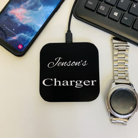Personalised Charger with name