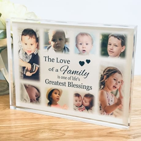 Personalised Keepsake - Family collage