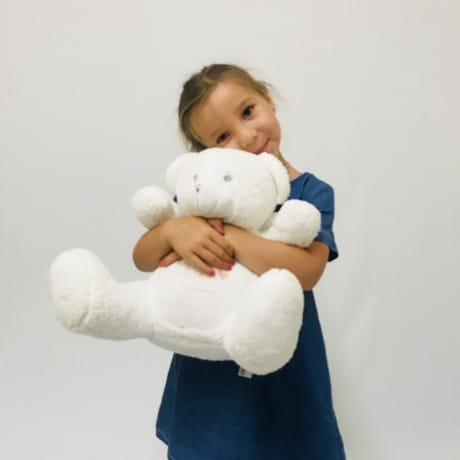 Angel teddy, with angel