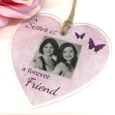 Personalised Acrylic heart - Forever friend