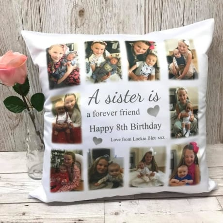 A Sister is Birthday Cushion