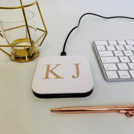 Charging Pad - Personalised Initials