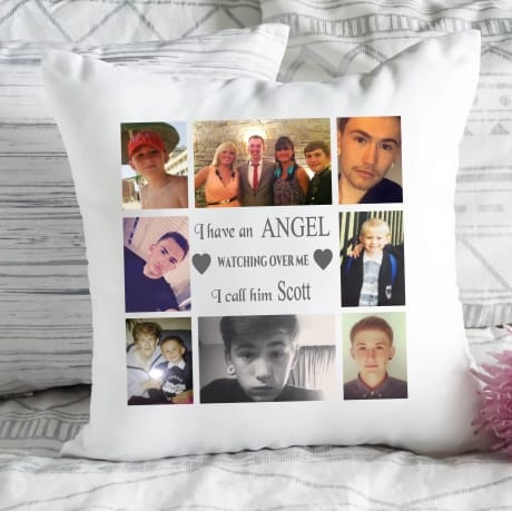 Personalised cushion - Angel