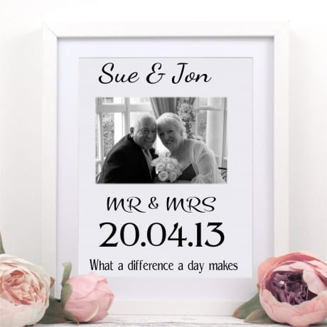 Personalised wedding or anniversary gift
