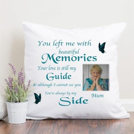 Personalised Cushion -  Beautiful Memories