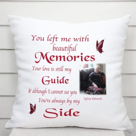 Personalised Cushion -  Beautiful Memories