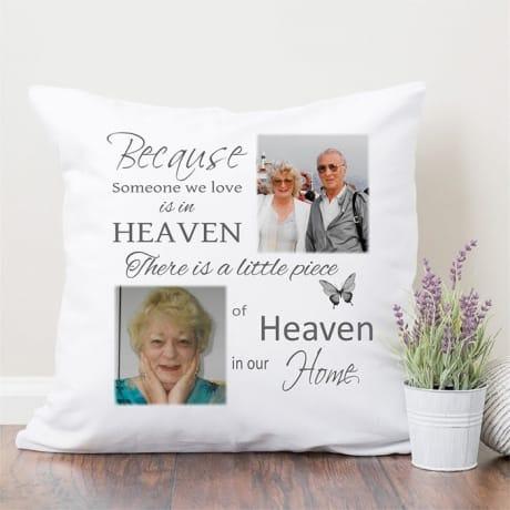 Personalised cushion - Heaven