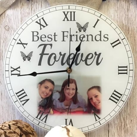Personalised clock - Best friends forever