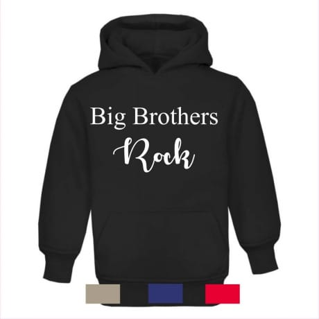 Big brother's rock hoodie