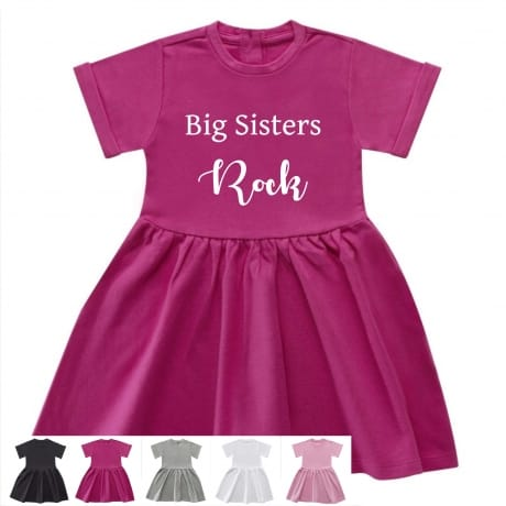 Big sisters rock dress