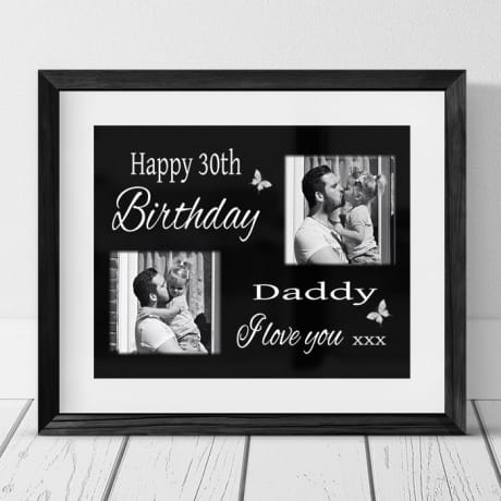 Happy Birthday : Frame, Block or Plaque