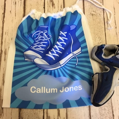 Personalised Boys Shoe bag