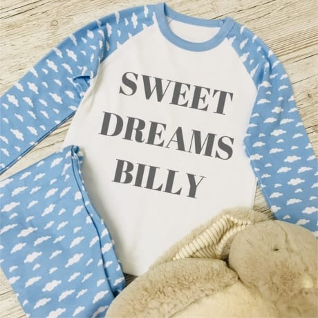 Personalised Children's Pyjamas - Sweet dreams
