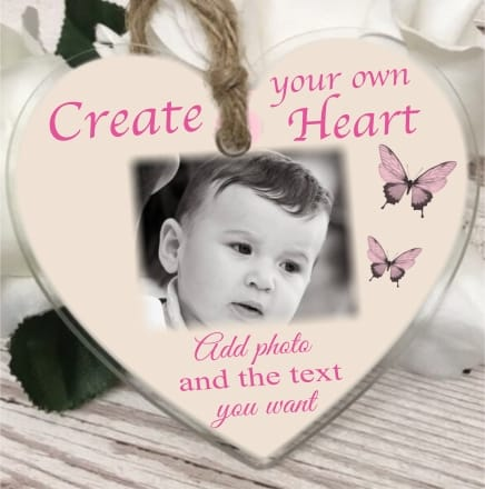 Create your own acrylic heart