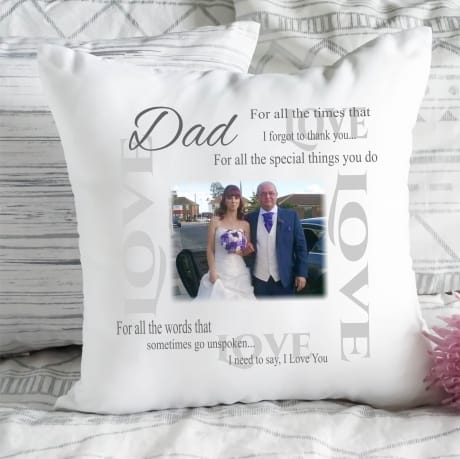 Personalised Cushion I need to say ....