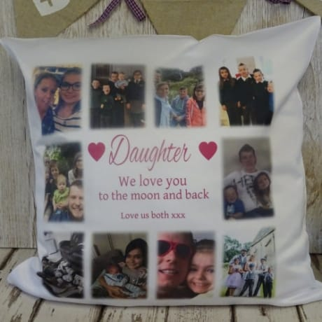 Cushion 7 - Love you to the moon...