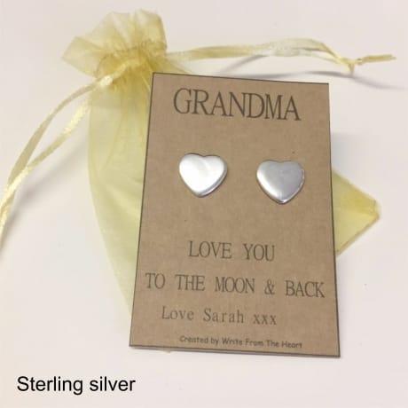 Earrings - Grandma