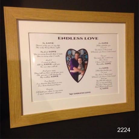 Lyrics-2224- Endless love
