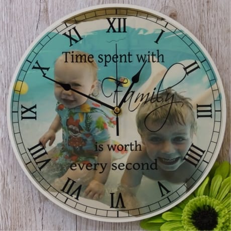 Personalised clock - Family...