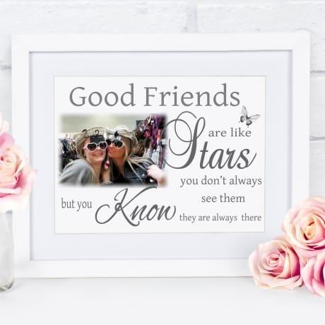 Good friends framed print