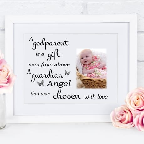 A godparent is : Frame, Block or Plaque
